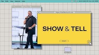Show & Tell - Pastor Dino Rizzo thumbnail