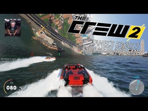 The CREW 2 - Planes, Boats, Cars - E3 2017 Exclusive Gameplay by Tanel