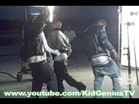 """Young Dro & Yung LA """"TakeOff"""" Video Shoot: Behind the Scenes"""