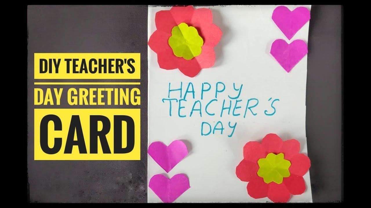 Diy handmade greeting card teachers day special youtube diy handmade greeting card teachers day special m4hsunfo