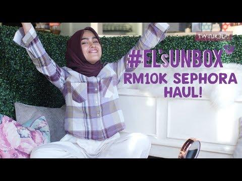 Elfira Loy Unbox EPISODE 1: Los Angeles Sephora Haul!