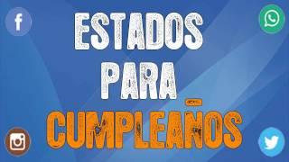 Felicitaciones Frases Y Mensajes De Cumpleaños Originales Estadospara Net
