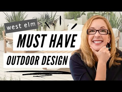 TOP DESIGNER OUTDOOR PRODUCTS AT WEST ELM 2020