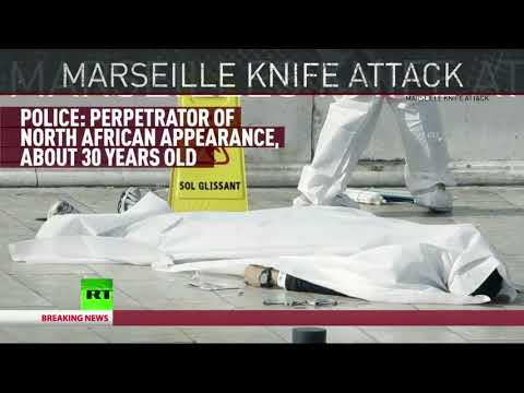 Breaking News October 2017 France Stabbings by North African ISLAMIC State Marseille Train Station