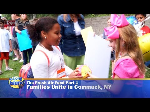 The Fresh Air Fund Part 1: Families Unite in Commack, NY