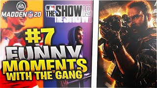 The funniest and most absurd moments in sports games HISTORY (Funny Moments with the gang #7)