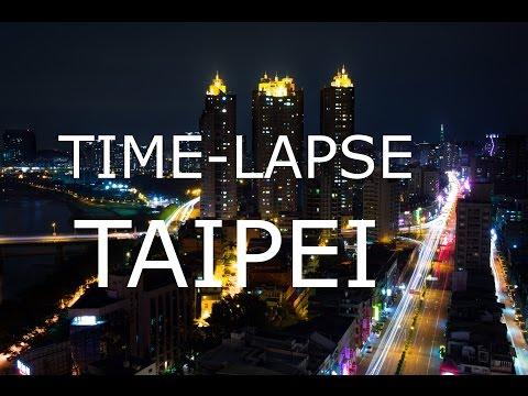 Taipei Time-Lapse Skyline