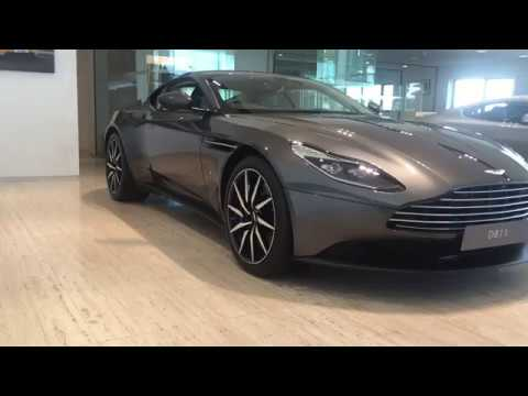 Aston Martin Db11 Finished In Magnetic Silver Youtube