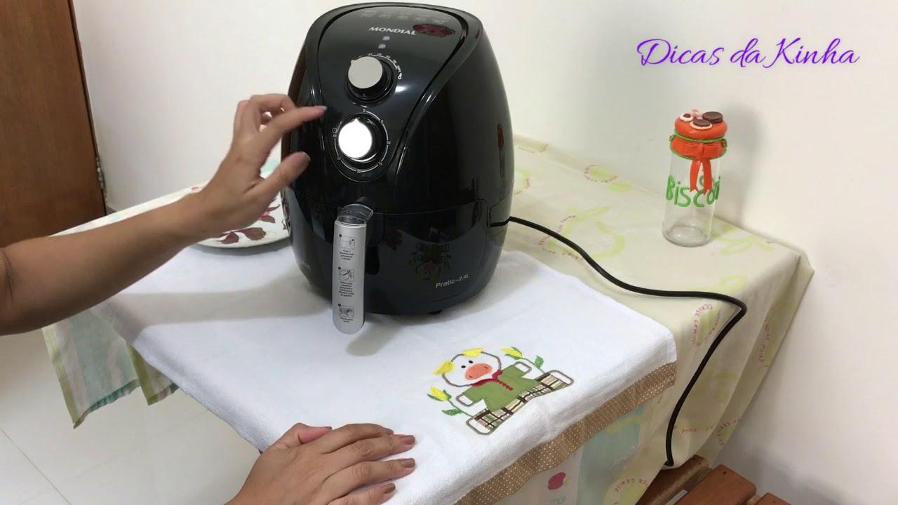 f4dec2361 Fritadeira sem óleo Mondial Pratic 2