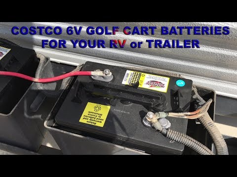 Costco Marine Battery >> Costco 6v Golf Cart Battery For Your Rv Or Trailer Affordable Off