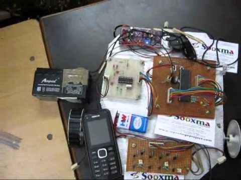 Dtmf Based Mobile Phone Controlled Bomb Detection Robot