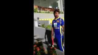 sangakkara getting pissed with a spectator Pakista
