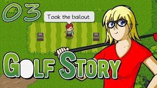 Get ready for a textbook thrashing | Lets Play Golf Story | Playthrough Gameplay Walkthrough | 03