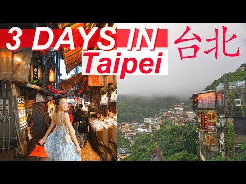 3 Days in Taipei 台北 Travel VLOG | Jiufen, Shifen, Night Market | Jenny Zhou 周杰妮
