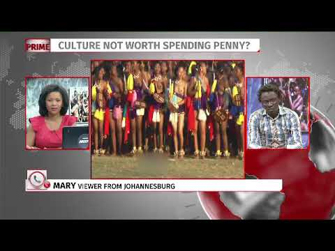 Row over R1,6 million reed dance expense