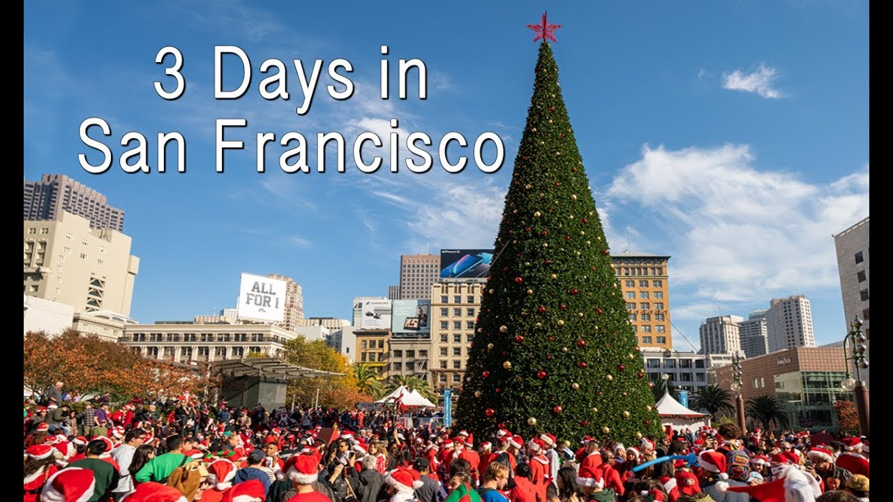 3 Days in San Francisco (SantaCon, Museum of Ice Cream & Angel Island)