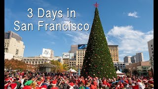 3 Days in San Francisco (SantaCon, Museum of Ice Cream & Angel Island)