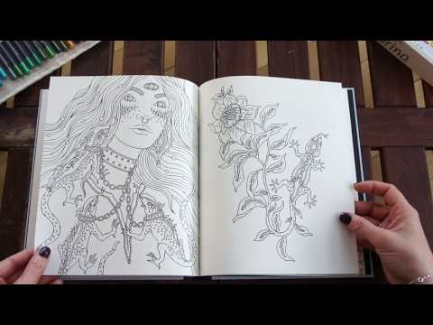 Själsfränder Spirit Animals Coloring Book   Hanna Karlzon - Flip Through