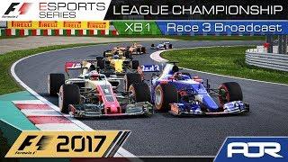 F1 Esports Series 2017: XB1 League Championship - Race 3 - Japan