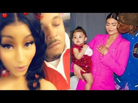 Nicki Minaj PREGNANT & Fans Are Freaking Out! The Kar Jenner's Trademarking Their Babies Names!