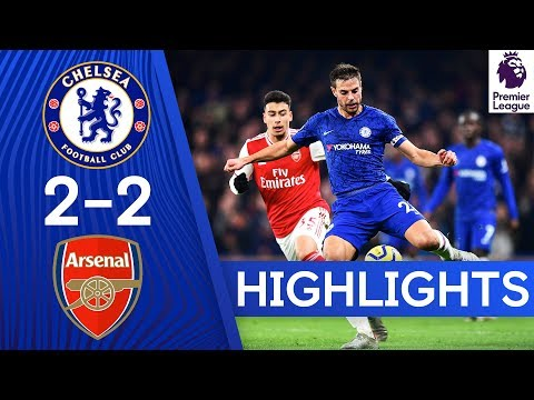 Chelsea 2-2 Arsenal | Premier League Highlights