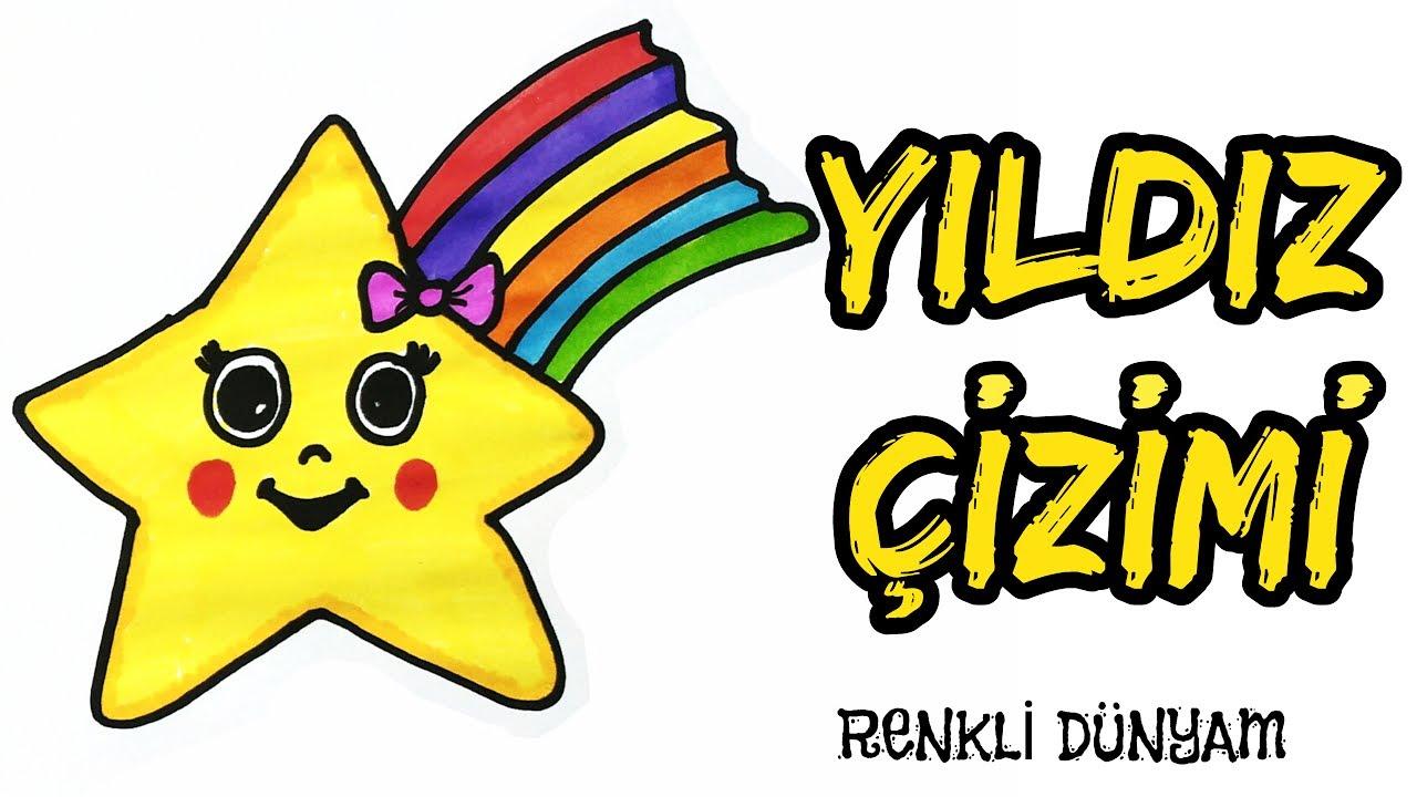 Sevimli Yildiz Nasil Cizilir Yildiz Cizimi How To Draw A Star