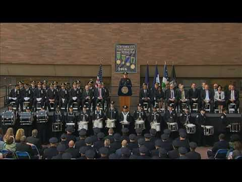 Mayor de Blasio Delivers Remarks at NYPD Medal Day Ceremony