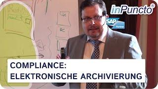 Compliance: elektronische Archivierung & Revisionssicherheit(Hilfreiche Informationen zu den Compliance Richtlinien & Revisionssicherheit. Wir klären in diesem Video u.a.: Was ist Compliance, die Compliance ..., 2014-04-29T01:51:29.000Z)
