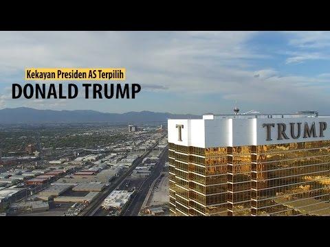 Kekayaan Presiden Amerika Serikat Donald Trump