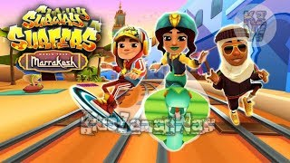 Gameplay Subway Surfers Marrakesh 2018 [Android & Ios] -  Games For Kids - Auto TURBO