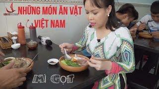 NHỮNG MÓN ĂN VẶT VIỆT NAM | KHÁM PHÁ MÌ GỌT ĐỘC ĐÁO | Việt Hương 2018