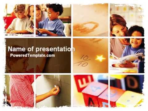 Primary school powerpoint template by poweredtemplate youtube primary school powerpoint template by poweredtemplate toneelgroepblik Gallery