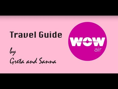WOW Air - Travel Guide Application from Greenwich, London