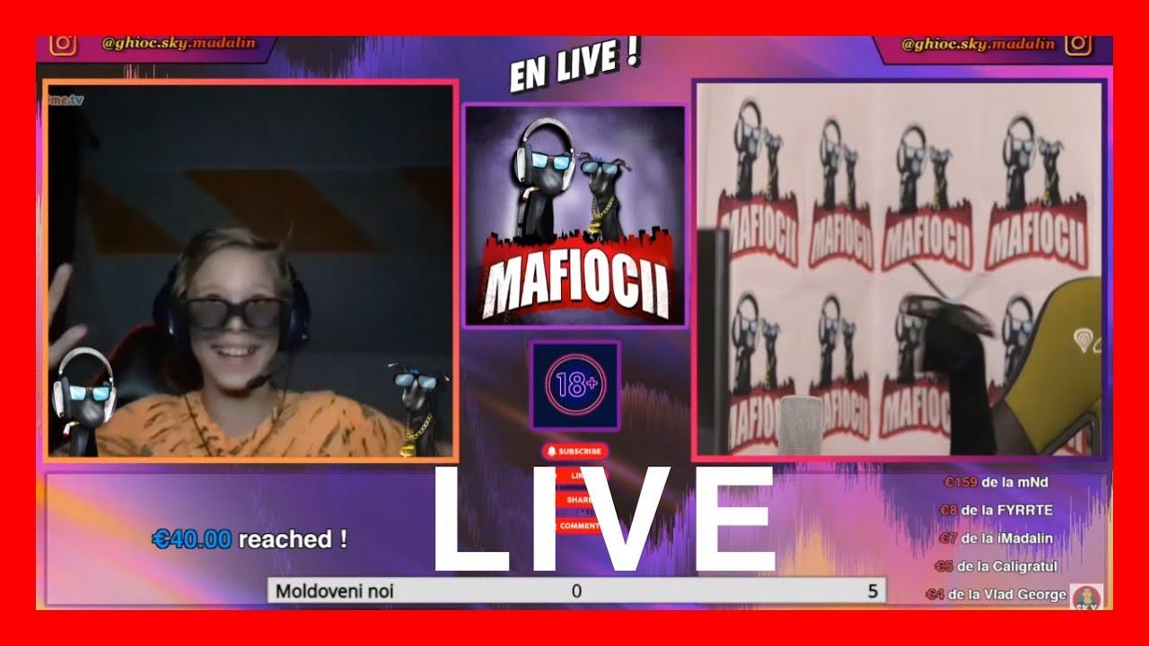 "Download 🔴 DA LIKE SI HAI SA RAZI !🤣 -  MAFIOCII LIVE PE OME.TV | Ghioc ""sky"" Madalin"