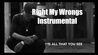 Bryson Tiller - Right My Wrongs Instrumental Karaoke 2017 Prod. By J Smooth Soul