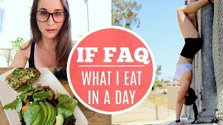 INTERMITTENT FASTING TIPS & TRICKS | What I Eat + Upper Body Workout