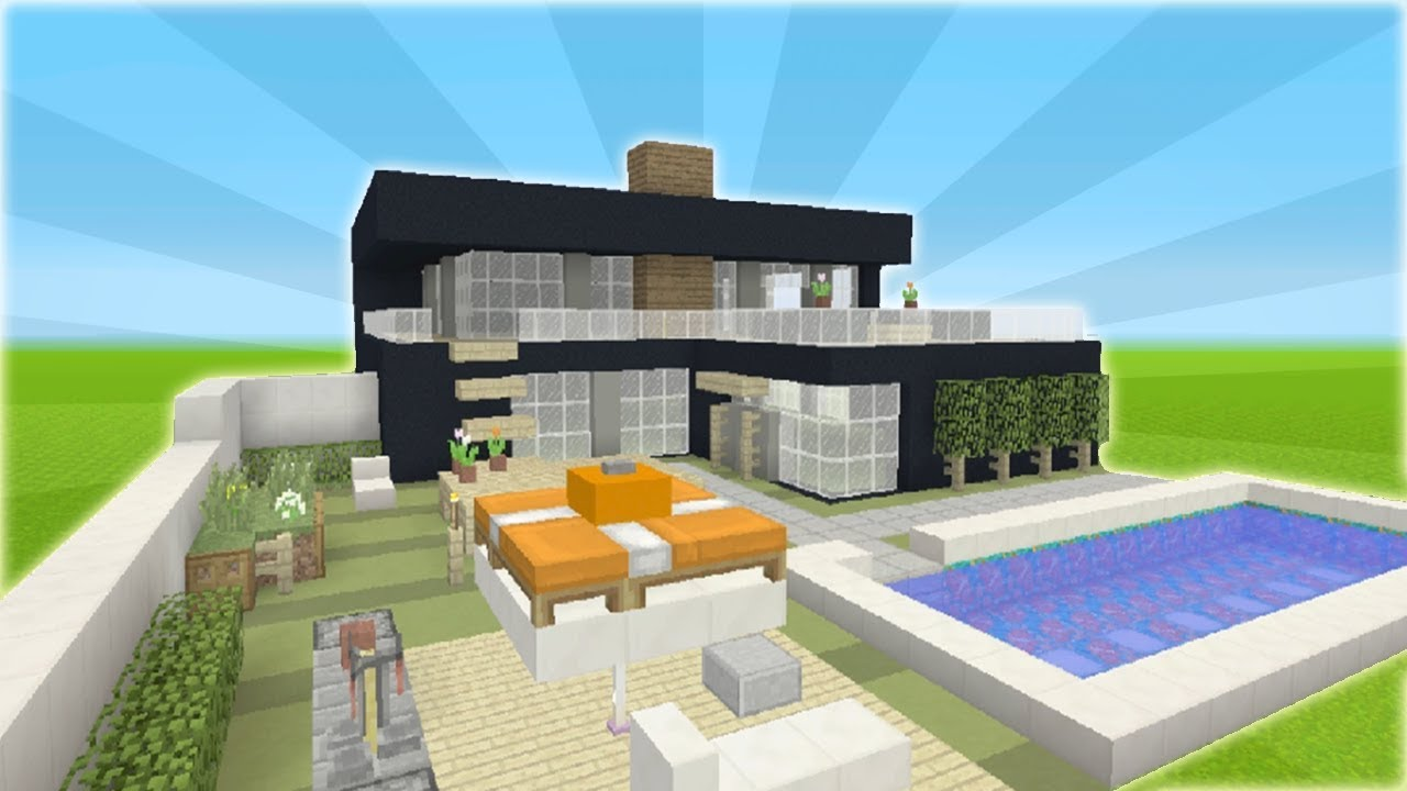 Minecraft Tutorial How To Make A Modern House 3 YouTube