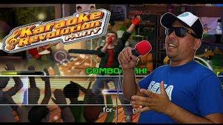 Cantando no Karaoke Revolution (Xbox)