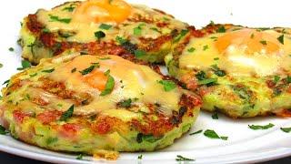 Вкуснейшие Оладьи из кабачков на завтрак ☆ Рецепт Как приготовить вкусные и нежные кабачковые оладьи