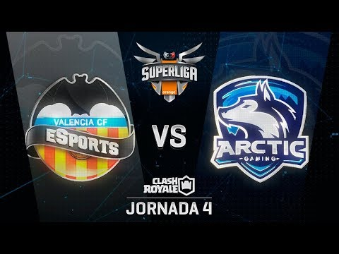 SUPERLIGA ORANGE - VALENCIA CF ESPORTS VS ARCTIC INNJOO - Jornada 4 - #SuperligaOrangeCR4