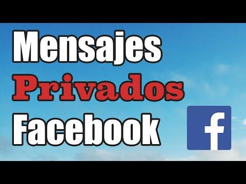 Cómo enviar mensajes privados en facebook