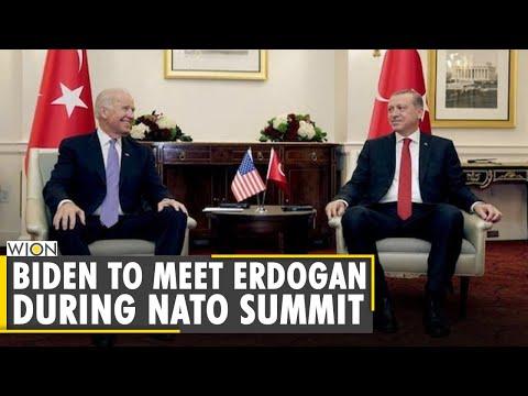 Turkey optimistic about Erdogan-Biden meeting at NATO summit   Brussels   Latest World English News