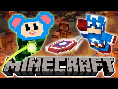 Eep Becomes Different Superheroes and More | Super Mouse Fights Zombie | Mother Goose Club Minecraft