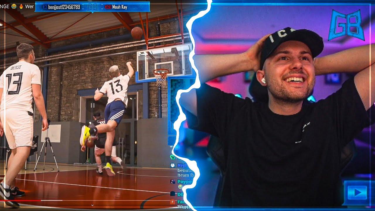 GamerBrother REAGIERT auf CREW BASKETBALL CHALLENGE 🤣🏀 | GamerBrother Stream Highlights