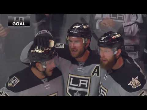Jeff Carter Scores On Brian Elliott | Kings Lead Flames 1-0