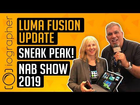 Luma Fusion Update Sneak Peak NAB Show 2019