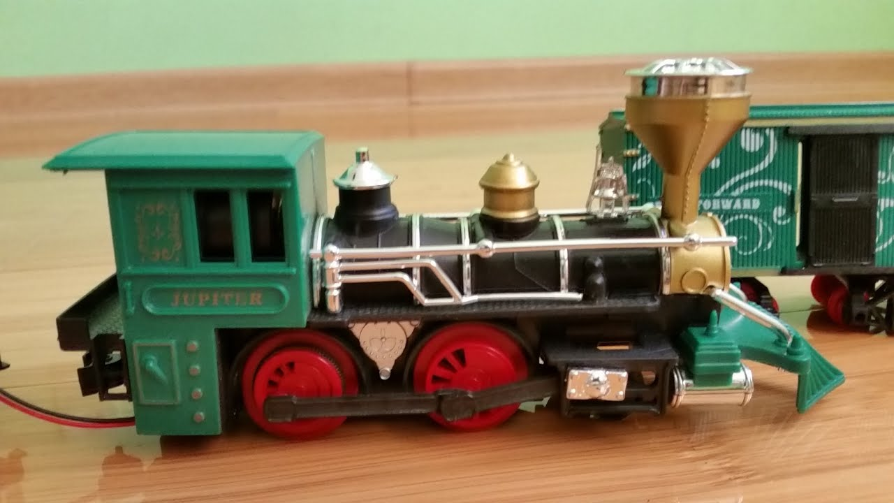 Children s train video Toy train smoke and kids playing with them