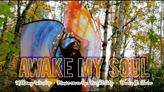 Worship Flags // Awake My Soul By Hillsong // Cover By Bright City // Dance Ft Claire CALLED TO FLAG