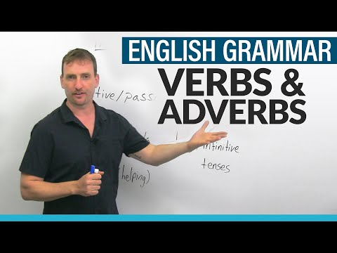 Parts of Speech: Verbs & Adverbs