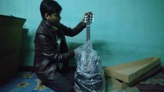 Guitar unboxing Ju rez Acoustic 38 inch